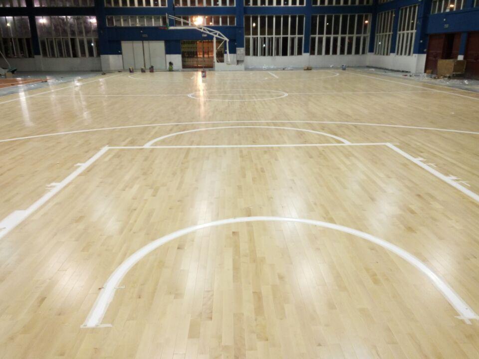 篮球木地板--广东省中山市南山区市活动中心